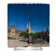 St. Mary's Cathedral Shower Curtain