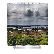 St Mary's Cathedral - Sydney Australia V2 Shower Curtain