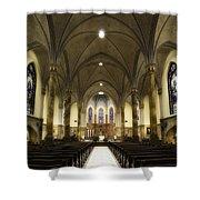 St Mary's Catholic Church Shower Curtain by Lynn Geoffroy