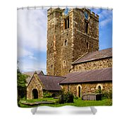 St Mary's Church Conway Shower Curtain