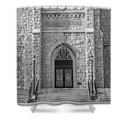St. Mary's Church - Port Washington 4  Shower Curtain
