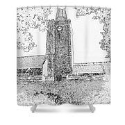 St Marys Church Tenby Shower Curtain