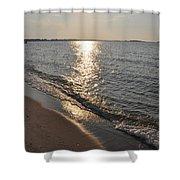 St Marys County Sunrise Shower Curtain