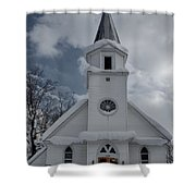 St. Marys Glenfield Ny Shower Curtain