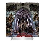 St. Maurice Church - Appenzell - Switzerland Shower Curtain