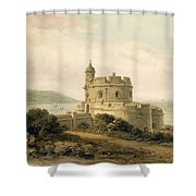 St Mawes Castle Shower Curtain