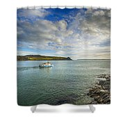 St Mawes Ferry Duchess Of Cornwall Shower Curtain