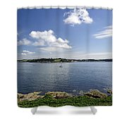St Mawes From Pendennis Point Shower Curtain