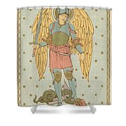 St Michael And All Angels By English School Shower Curtain