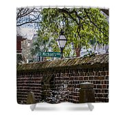St. Michaels Alley Shower Curtain