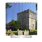 St Michael's Church - Shalfleet Shower Curtain