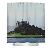 St Michael's Mount From The East Shower Curtain