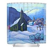 St Michaels Shower Curtain