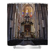 St Nicholas Church Ghent Shower Curtain