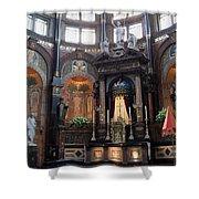 St Nicholas Church Interior In Amsterdam Shower Curtain