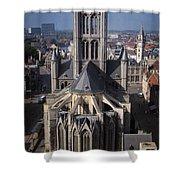 St Nicholas Church View Shower Curtain