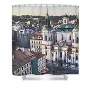 St Nicholas Prague Shower Curtain