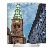 St. Nikolai Church Tower Shower Curtain