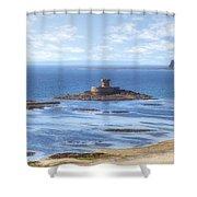 St Ouen's Bay Shower Curtain