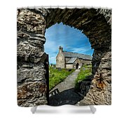 St Patrick Arch Shower Curtain