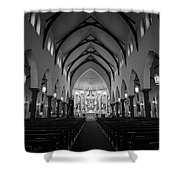 St Patricks Cathedral Fort Worth Shower Curtain