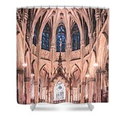 St Patricks Cathedral New York Usa Shower Curtain