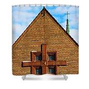 St Patricks Church Shower Curtain