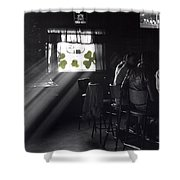 St. Patrick's Day At The Suffern Hotel Shower Curtain