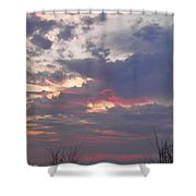 St Patty's Sunset Shower Curtain