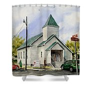 St. Paul Congregational Church Shower Curtain
