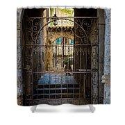 St Paul Courtyard Shower Curtain