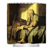 St. Paul In Prison Shower Curtain