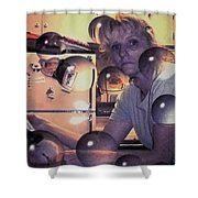 St Paulie Girl Shower Curtain