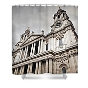 St Pauls Cathedral In London Uk Shower Curtain