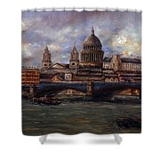 St. Paul's  Cathedral  - London Shower Curtain