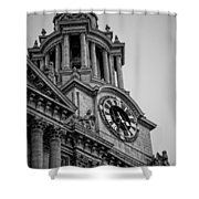 St Pauls Clock Tower Shower Curtain