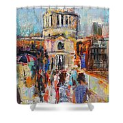 St Paul's From The Millennium Bridge Shower Curtain