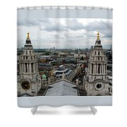 St Paul's View Shower Curtain