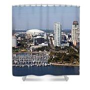 St Pete Florida Shower Curtain