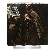 St Peter Of Alcantara Shower Curtain