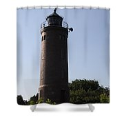 St. Peter-ording Lighthouse - North Sea - Germany Shower Curtain