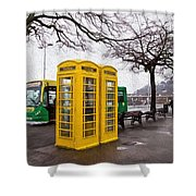 St Peter Port - Guernsey - Impressions Shower Curtain