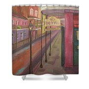 St. Peter Street Shower Curtain