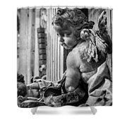 St. Peter's Angel Shower Curtain