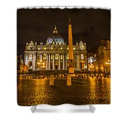 St Peters Bascilica Shower Curtain