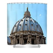 St Peters Basilica Dome Vatican City Italy Shower Curtain