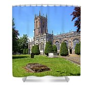 St Peter's Church - Tiverton Shower Curtain