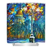 St. Petersburg New Shower Curtain by Leonid Afremov