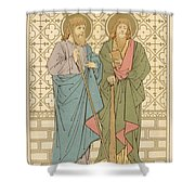 St Philip And St James Shower Curtain by English School