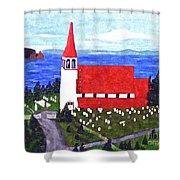 St. Philip's Church Shower Curtain